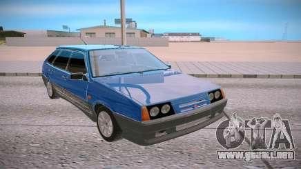 2109 azul para GTA San Andreas