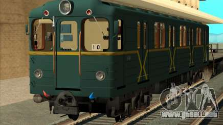 Metrostav tipo E de Modernización de Kiev para GTA San Andreas