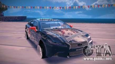Lexus GS350 F Sport para GTA San Andreas