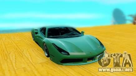 Ferrari 488 GTB para GTA San Andreas