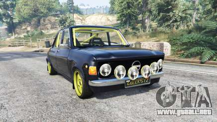 Zastava 1100p rally v2.0 [replace] para GTA 5