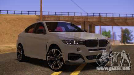 BMW X6 50D para GTA San Andreas