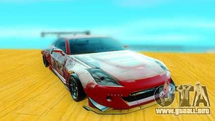 Nissan 350Z rojo para GTA San Andreas