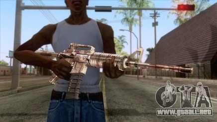Crossfire M4A1 Camo para GTA San Andreas