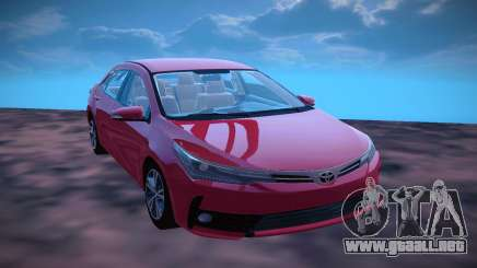 Toyota Corolla 2018 para GTA San Andreas
