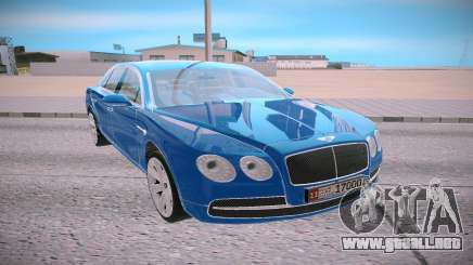 Bentley Flying Spur para GTA San Andreas