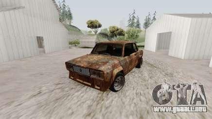 VAZ 2105 Rusty para GTA San Andreas