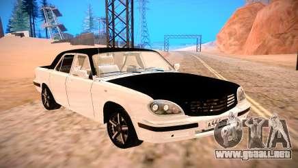 GAZ 31105 en Blanco y Negro para GTA San Andreas