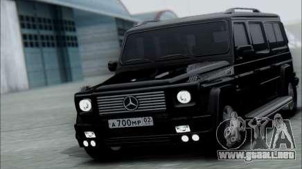 Mercedes G55 XXL para GTA San Andreas