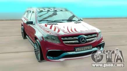 Mercedes-Benz GLS para GTA San Andreas