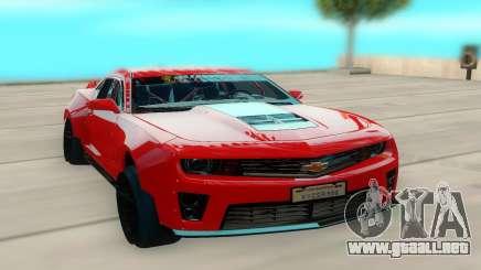 Chevrolet Camaro ZL1 para GTA San Andreas
