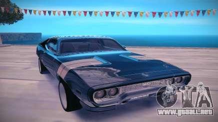 1971 Plymouth GTX para GTA San Andreas