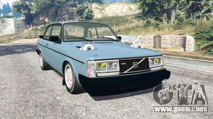 Volvo 242 Turbo v1.2 [replace] para GTA 5