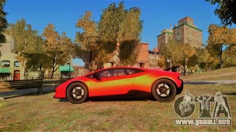Lamborghini Huracan Performante para GTA 4