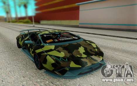 Lamborghini Huracan Performante Liberty Walk para GTA San Andreas