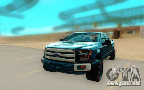 Ford F150 para la visión correcta GTA San Andreas