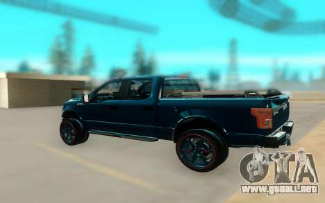 Ford F150 para GTA San Andreas left