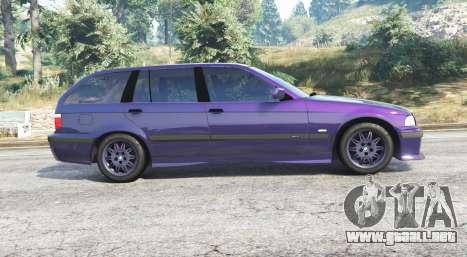 GTA 5 BMW M3 (E36) Touring v2.0 [replace] vista lateral izquierda