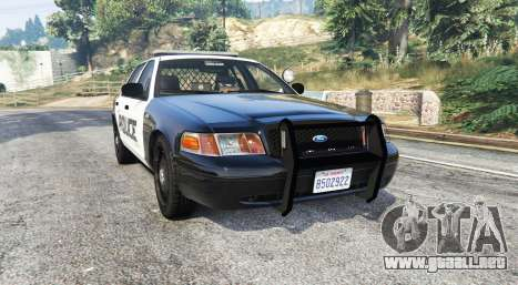 Ford Crown Victoria LSPD [replace] para GTA 5