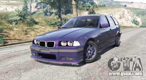 GTA 5 BMW M3 (E36) Touring v2.0 [replace] vista lateral derecha
