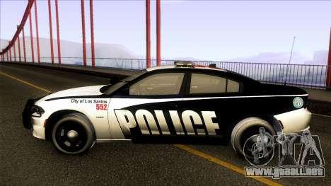 Dodge Charger 2016 LSPD para GTA San Andreas