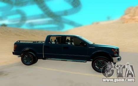 Ford F150 para GTA San Andreas vista posterior izquierda
