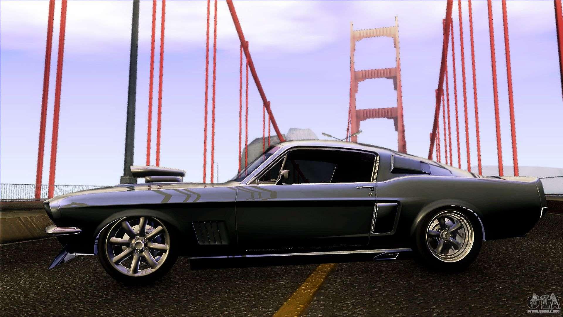 Ford Shelby GT500 1967 para GTA San Andreas