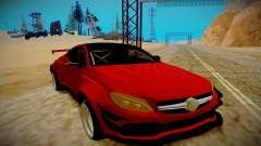 Mercedes Benz C63 S Coupe para GTA San Andreas