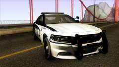 Dodge Charger 2016 LSPD para GTA San Andreas