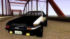 Toyota Corolla AE86 Spinter Trueno GT-Apex 1986 para GTA San Andreas