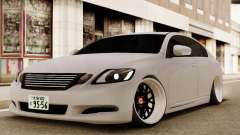Lexus GS450H para GTA San Andreas