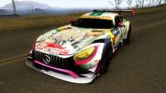 Mercedes Benz AMG GT3 Goodsmile Racing 2018 para GTA San Andreas