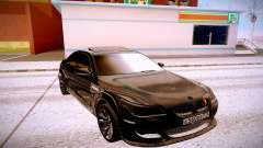 BMW M5 E60 black para GTA San Andreas