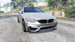 BMW M4 (F82) 2015 [replace] para GTA 5