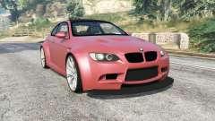BMW M3 (E92) WideBody v1.2 [replace] para GTA 5