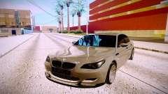 BMW M5 E60 silver para GTA San Andreas