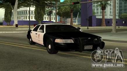 LAPD Ford Crown Victoria para GTA San Andreas
