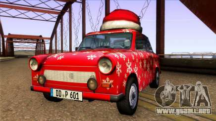 Trabant 601 Christmas Edition para GTA San Andreas