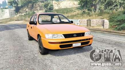 Toyota Corolla v1.15 [replace] para GTA 5