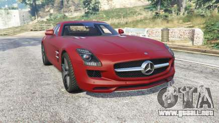 Mercedes-Benz SLS 63 AMG (C197) v1.3 [replace] para GTA 5