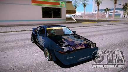 Toyota Corolla GTS AE86 Trueno para GTA San Andreas