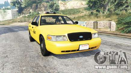 Ford Crown Victoria NYC Taxi [replace] para GTA 5
