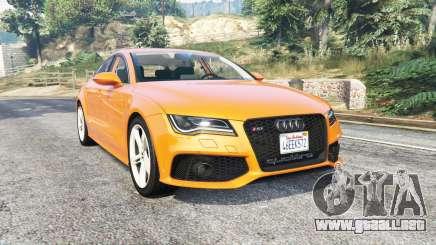 Audi RS 7 Sportback v1.1 [replace] para GTA 5