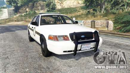 Ford Crown Victoria State Trooper [replace] para GTA 5