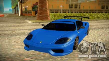 Ferrari 360 para GTA San Andreas