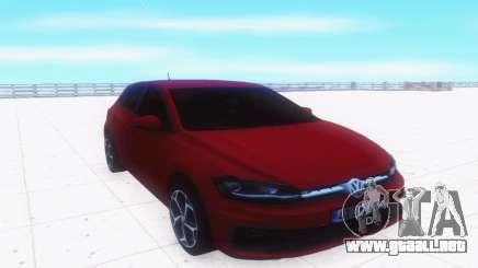 Volkswagen Polo RLine para GTA San Andreas