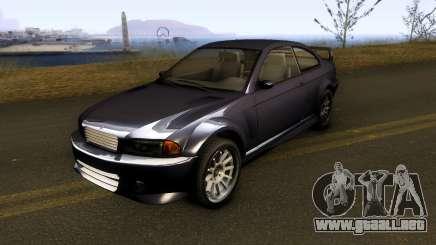 Ubermacht Sentinel XS Classic para GTA San Andreas