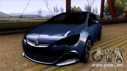 Vauxhaul Astra VXR para GTA San Andreas