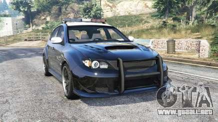 Subaru Impreza WRX STi LAPD v1.1 [replace] para GTA 5