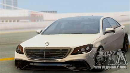 Mercedes-Benz S-class W222 2018 para GTA San Andreas